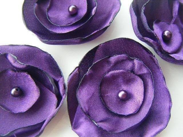 Slate Purple Grey Wedding Table Decoration x 50
