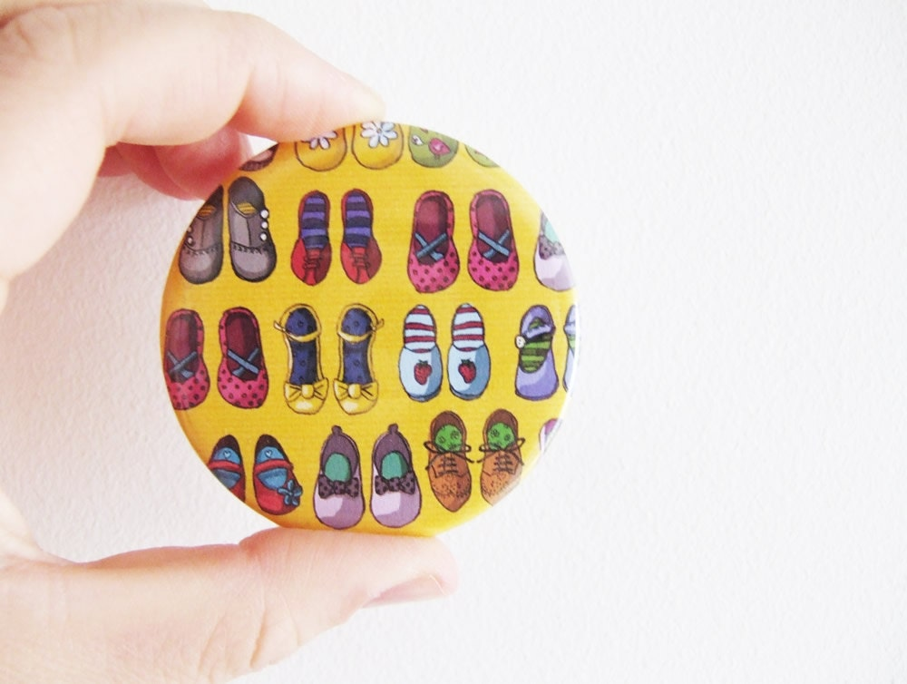 Pocket Art Mirror - Shoe Collection -