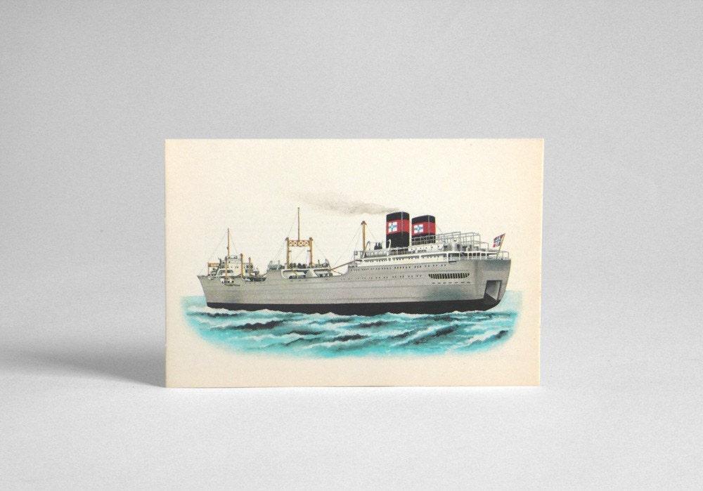 Vintage Ship Vessel Print 36
