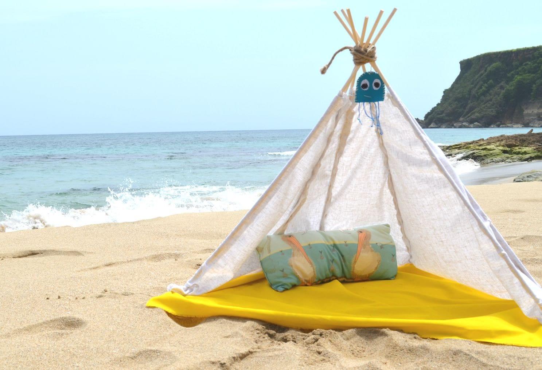 Baby Teepee for beach nap handmade - BabysBeachHouseBtq