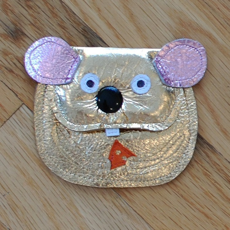 Animalia Change Purse - Quiet as a mouse