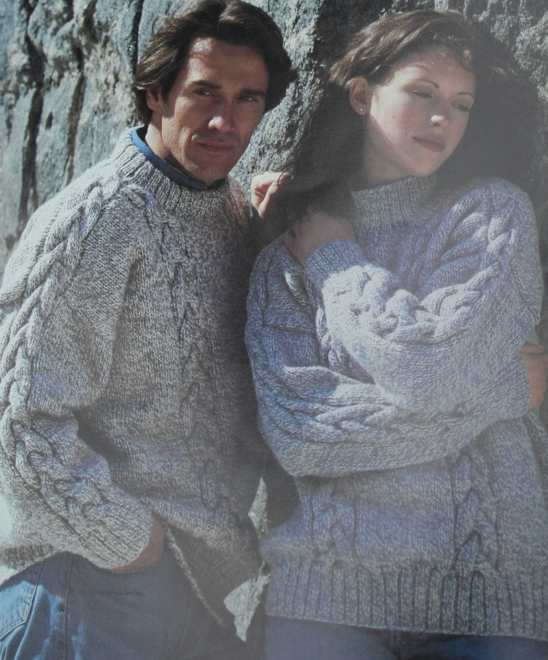 Quick Cardigan Knitting Pattern : Sweater Knitting Patterns Quick Knits Beehive Patons by elanknits