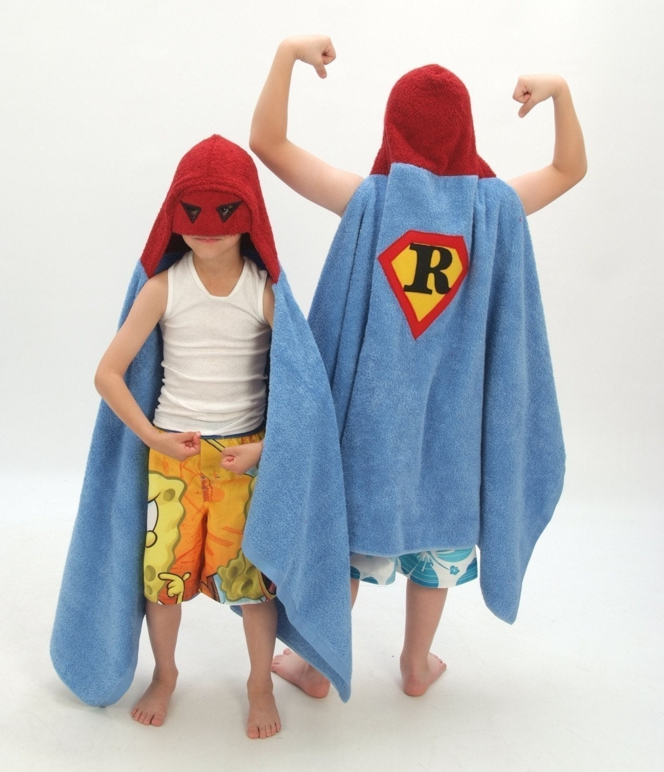 Personalized Superhero towel
