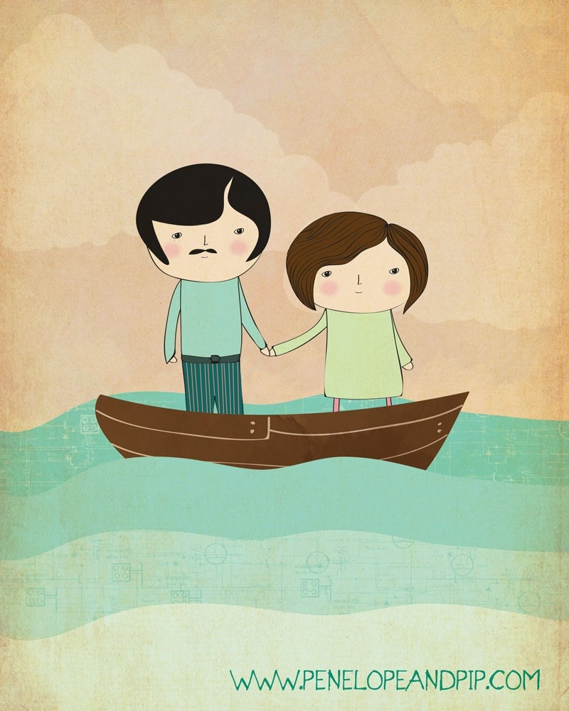 If I could sail away I'd sail with you honey...
