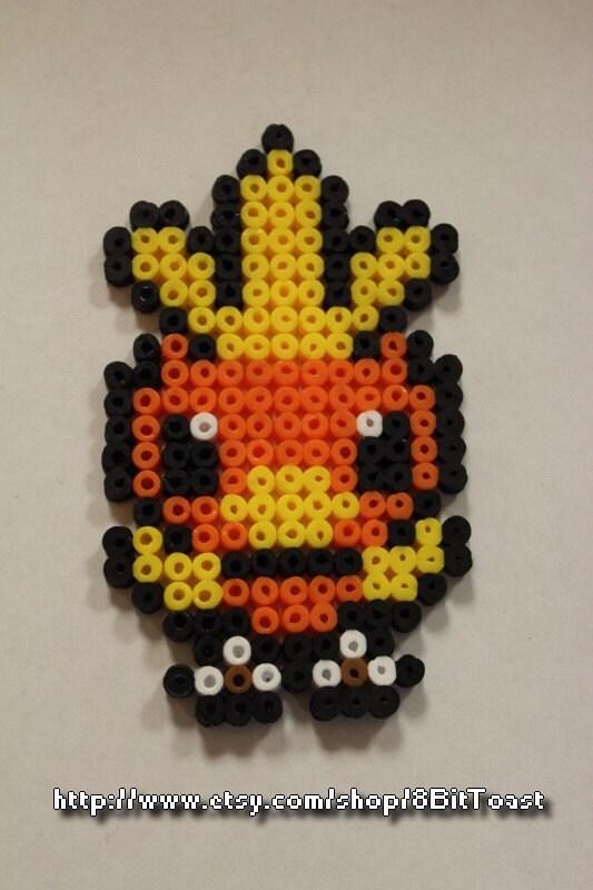 Items Similar To Torchic Pokemon Perler Bead
