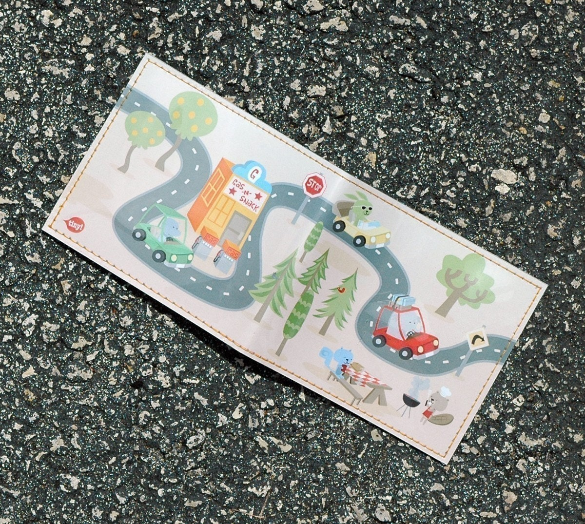On the Road Wallet - Zach Trover for Tinymeat