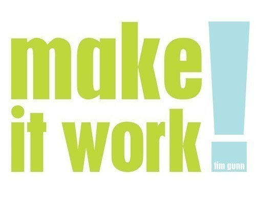 make it work . 8x10 art print