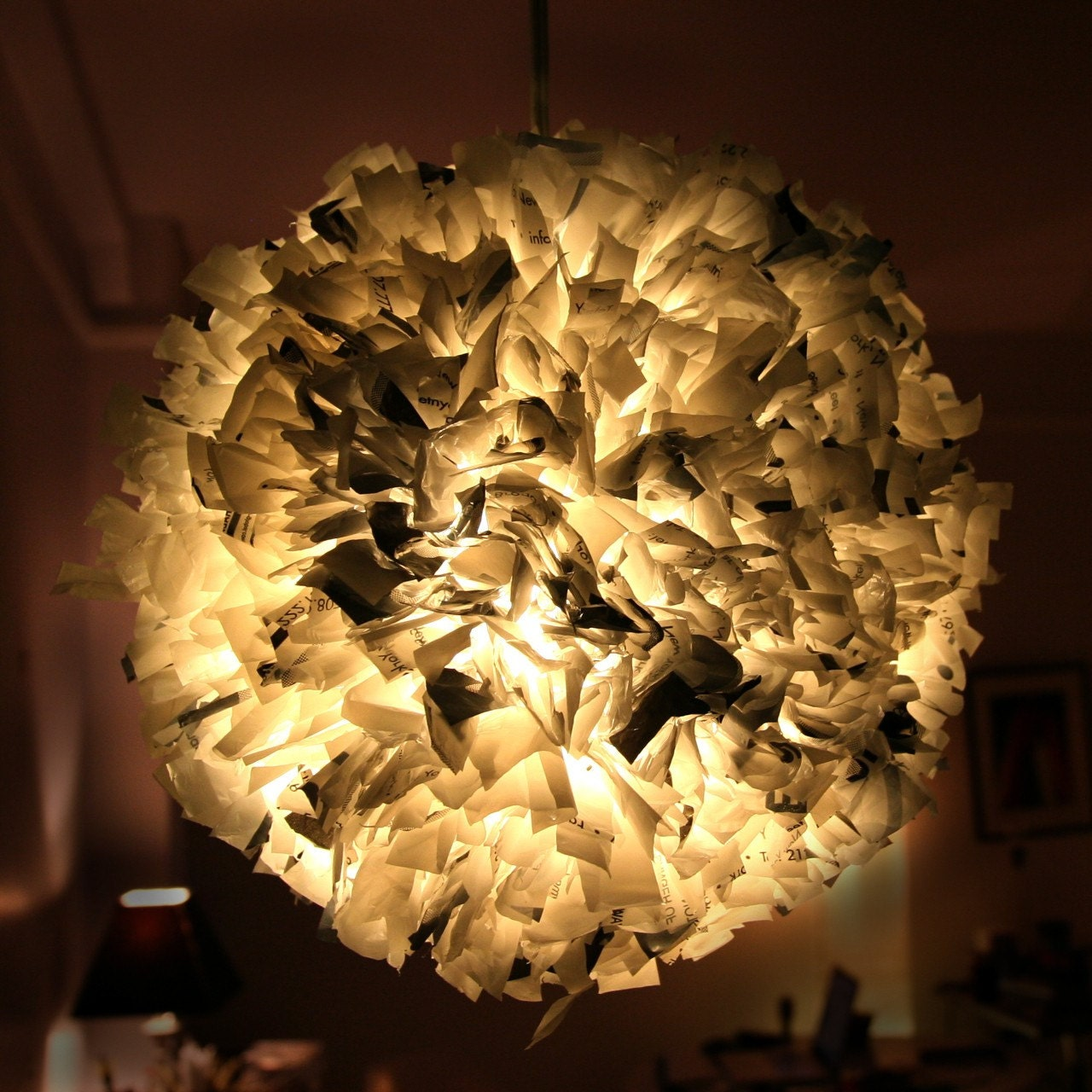 Пластиковые лампы Подвеска Сумка - Уникальные Экологичный свет