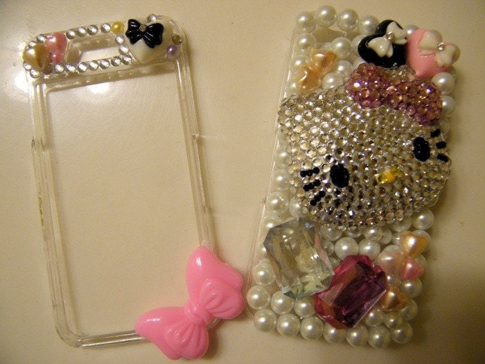 hello kitty iphone 4g cases. Hello Kitty Decoden case for