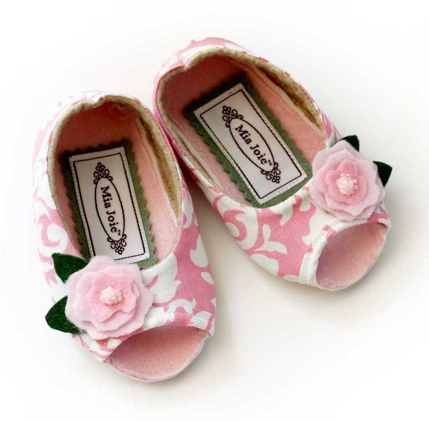 Marianna Pink Peep Toe Baby / Toddler Shoes