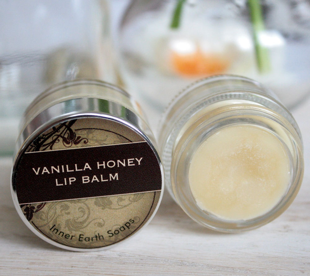 Vanilla Honey Lip Balm - All Natural