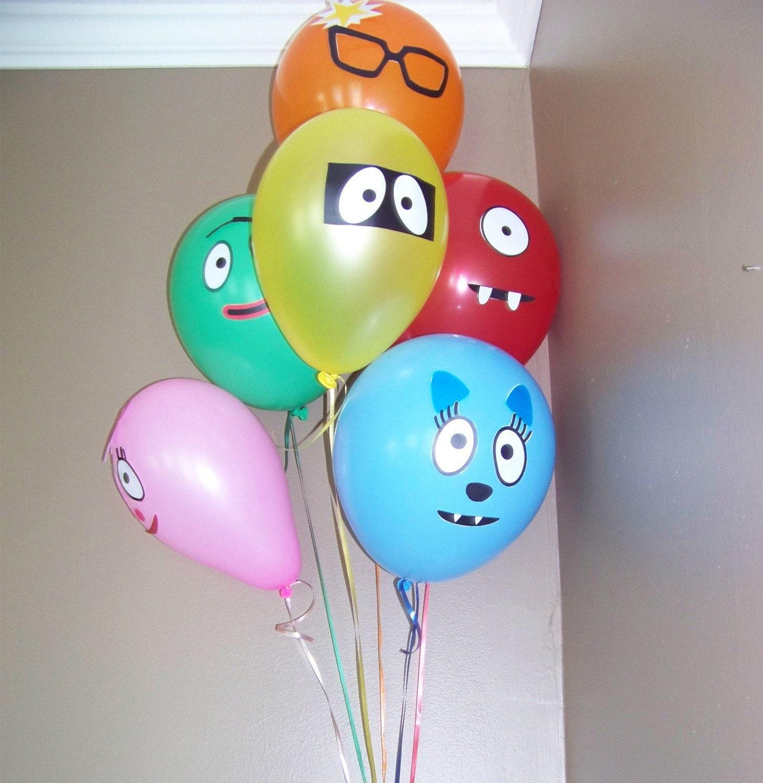 Yo Gabba Gabba party supplies - BabyCenter