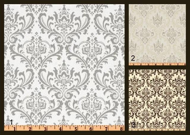 NEW ARRIVAL - Custom Shower Curtain, Standard Size 72x72, Damask ...