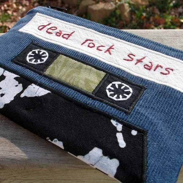 mix tape pouch - dead rock stars