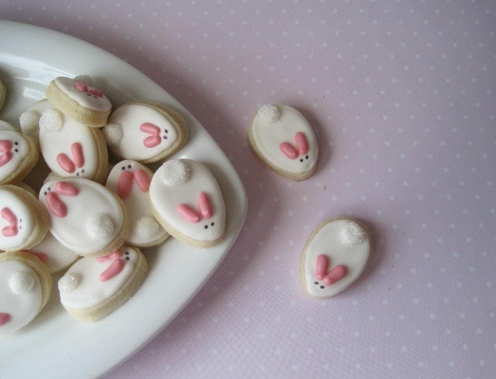 Oh so small Easter bunnies - 6 dozen
