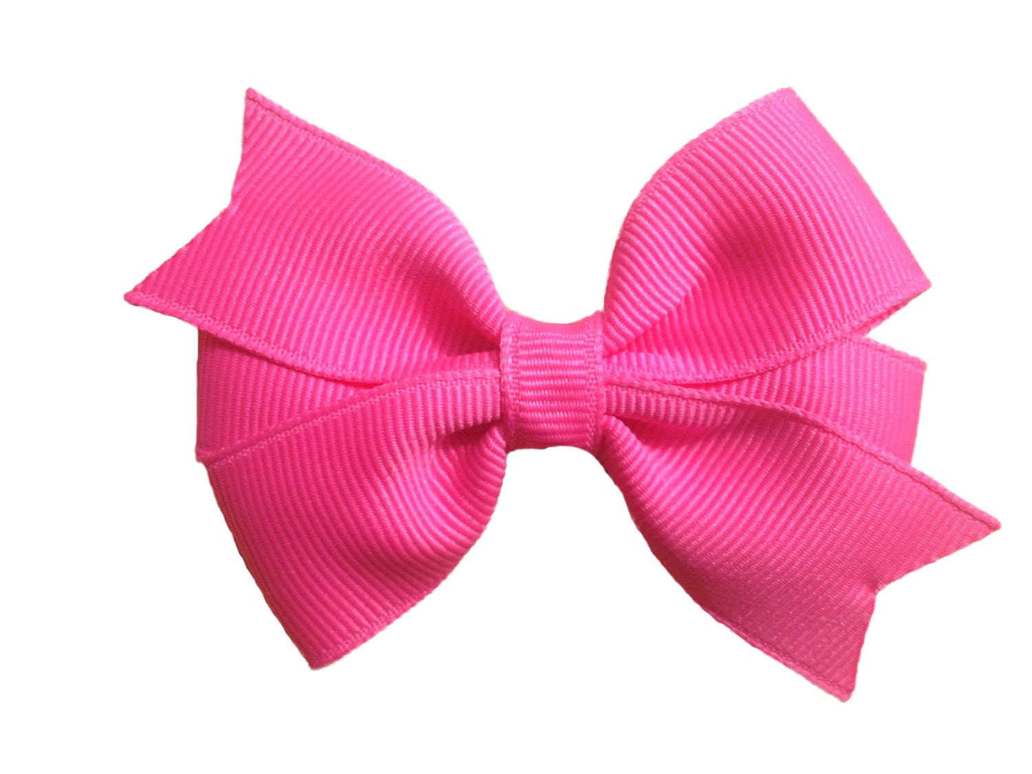 popular items for pink hair bows on etsy