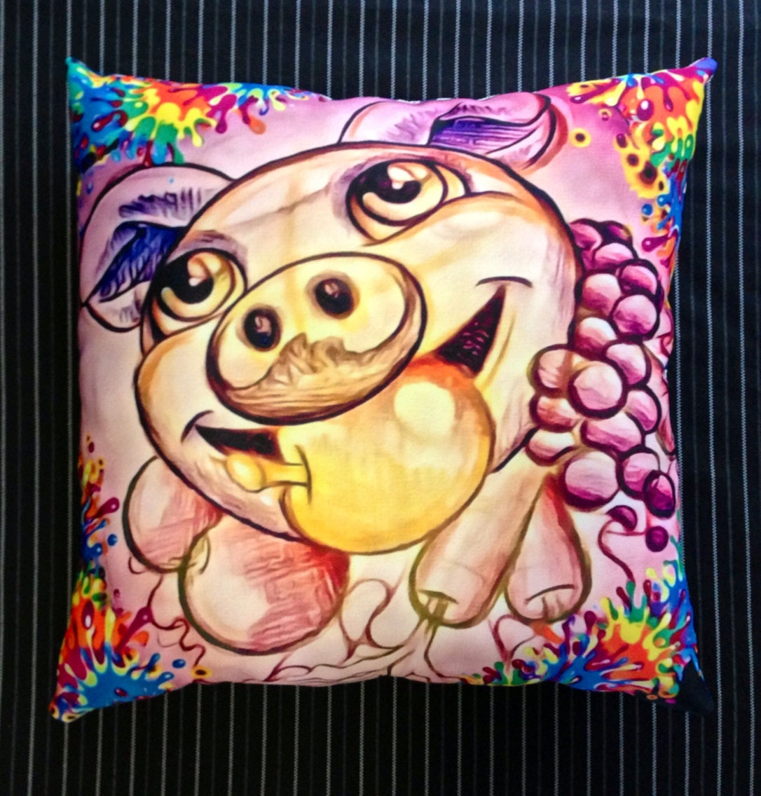 Little Piggy Cushion - RockabillyDawgz