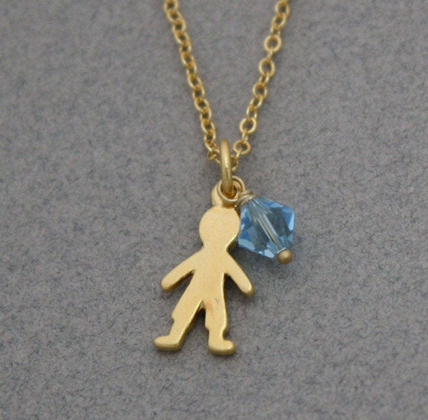 items similar to personalized baby boy necklace golden