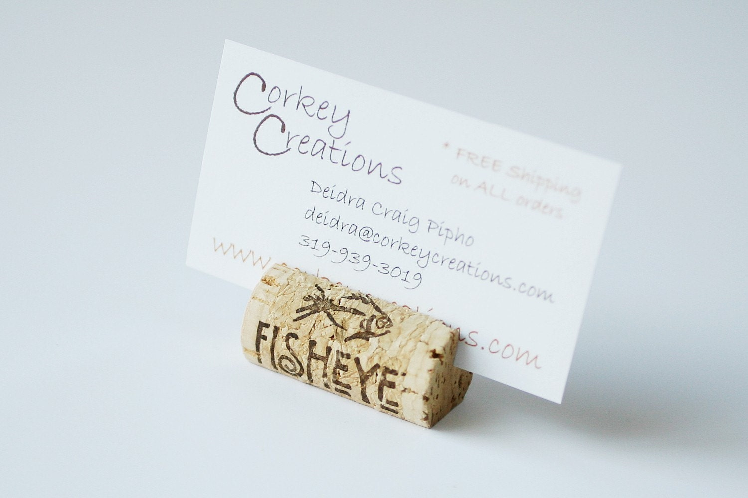 Wine Cork Place Card Holders, Set of 100