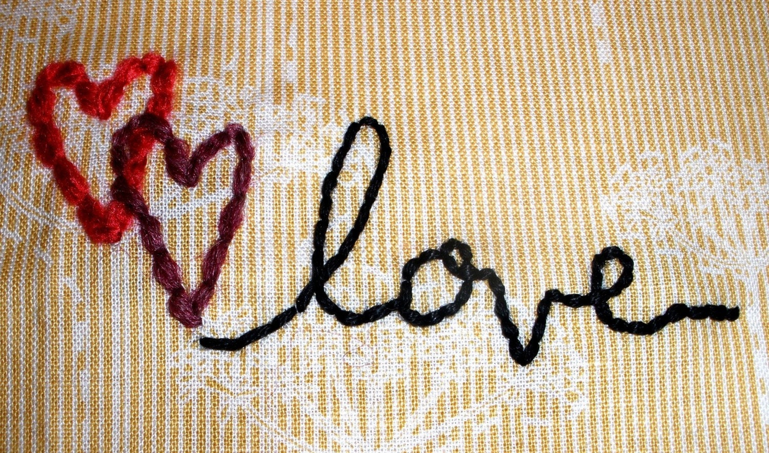 You and Me Embroidery Patterns