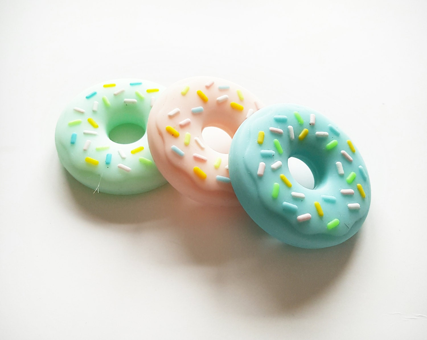 Silicone Donut Silicone Biscuit Silicone Teether Baby Teething BPA Free Jewellery Baby Shower Gift Baby Gift Baby Teether Silicone Donut
