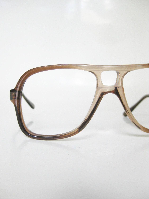 Aviator Eyeglasses Frame : Vintage Aviator Optical Frames Eyeglasses Mens by ...
