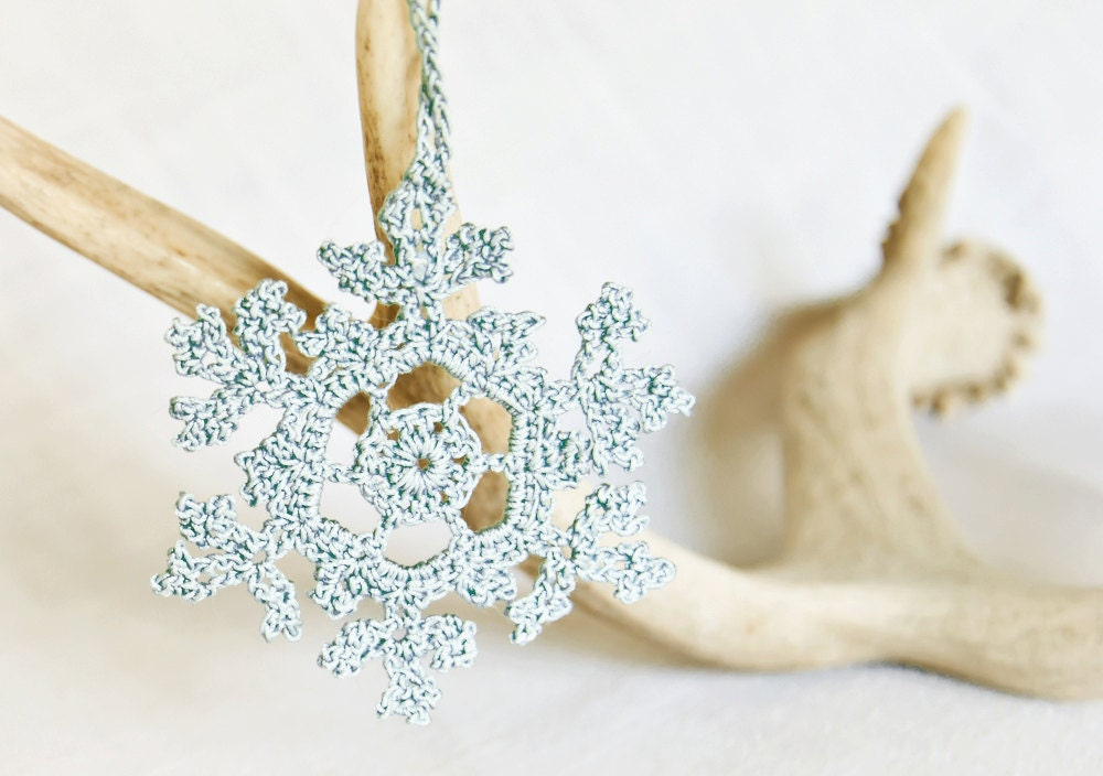 il 170x135.284860035 Snowflakes! An Etsy Treasury and 5 Free Crochet Patterns