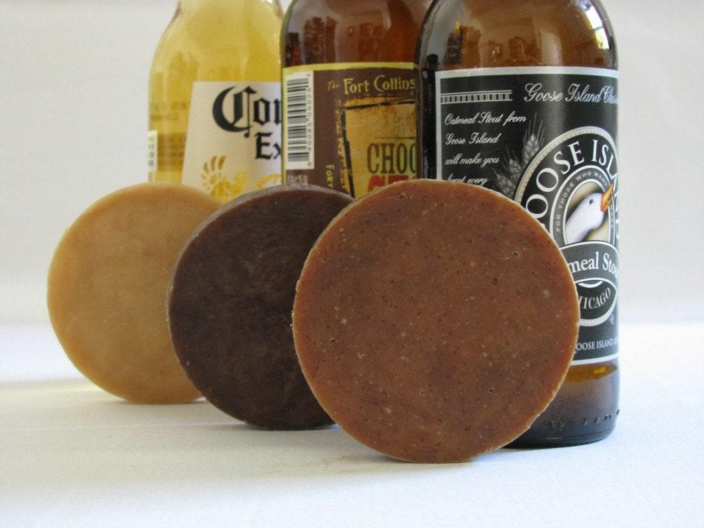 Suds Sampler - Beer Soap Sample Pack Trio