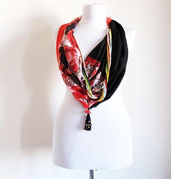 jewelry scarves turkish scarf jewelry circle scarf by
