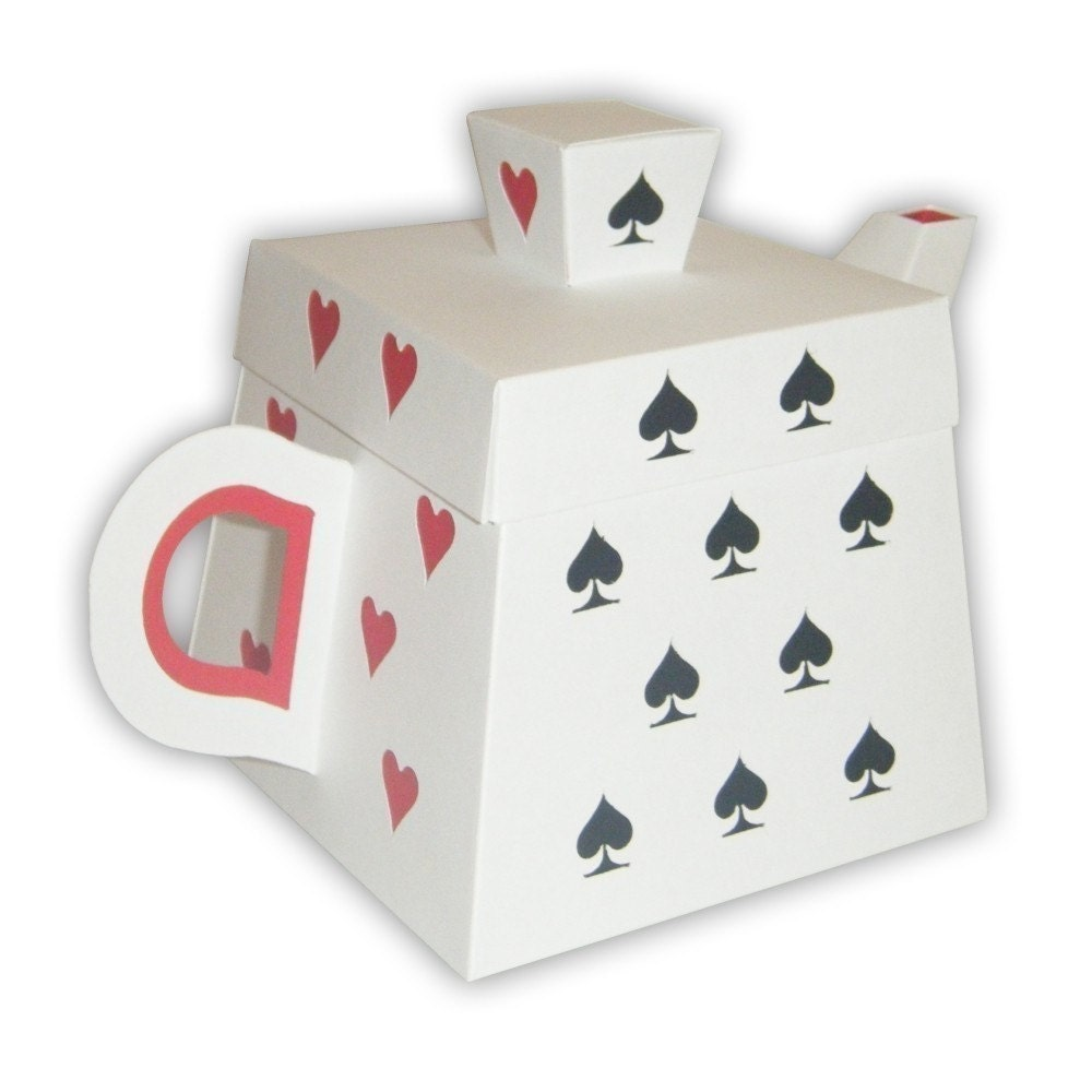 alice in wonderland playing cards template
