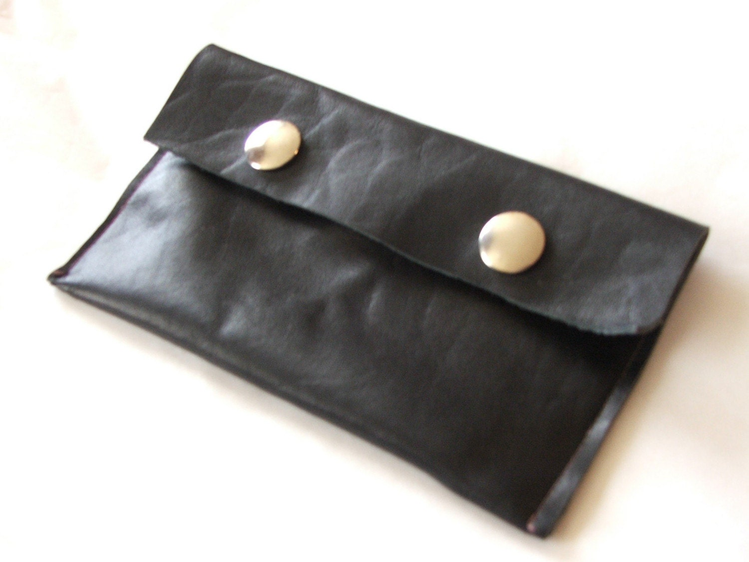 Soft Black Leather pouch