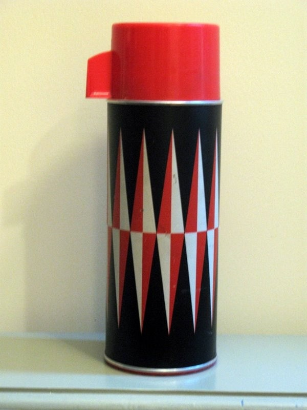 vintage thermos PENNANT Harlequin