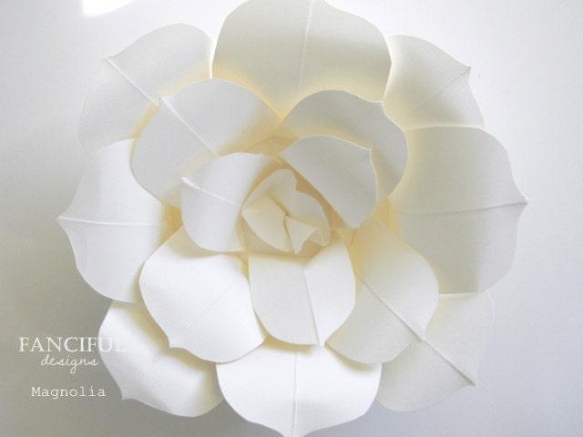 Огромные бумажные цветы - Ручной Торн французский бумажные цветы - Избранные в романтическом Дома и в день свадьбы Magazine