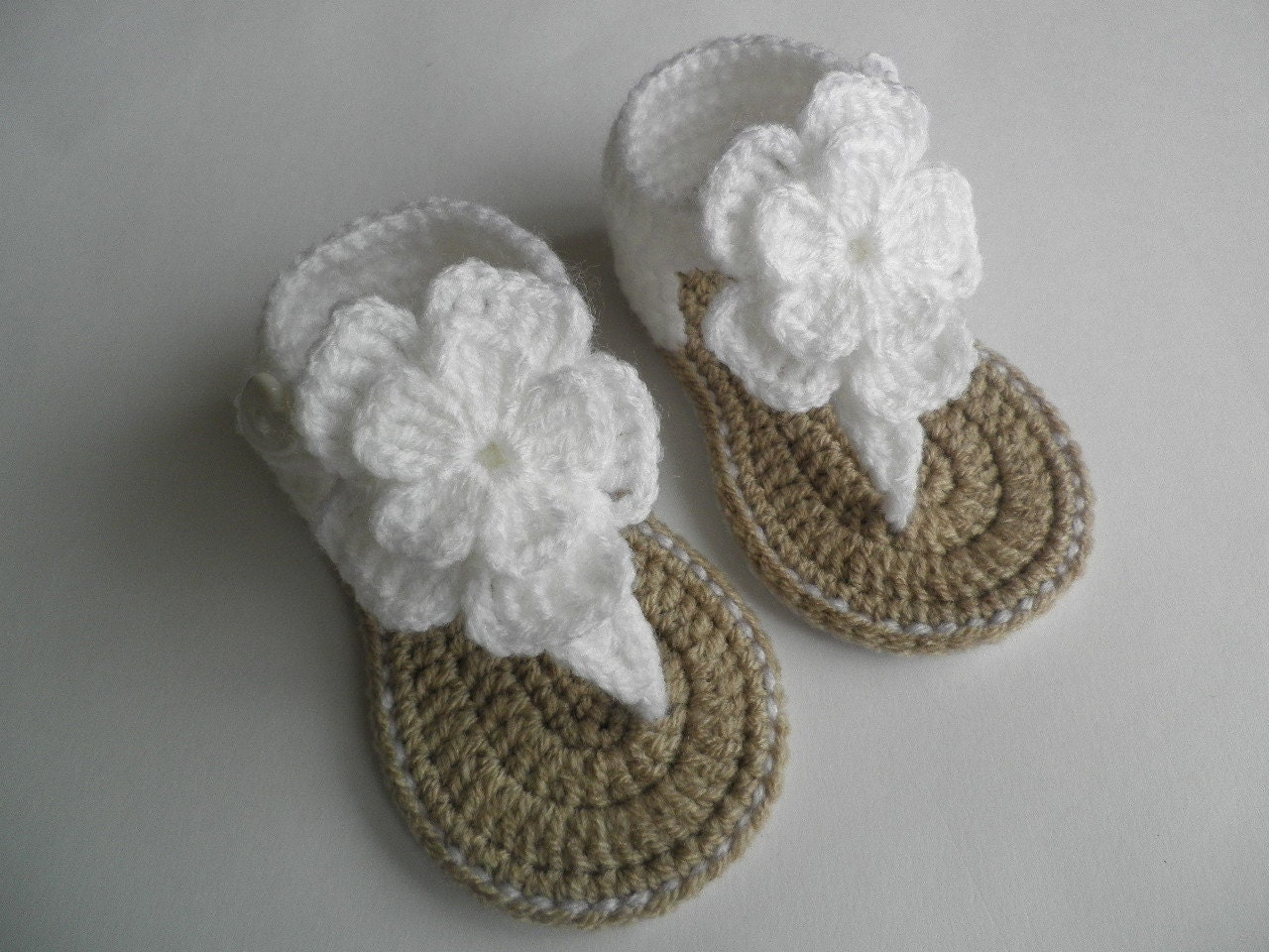 How To Crochet A Baby Sandals Infant Sandals