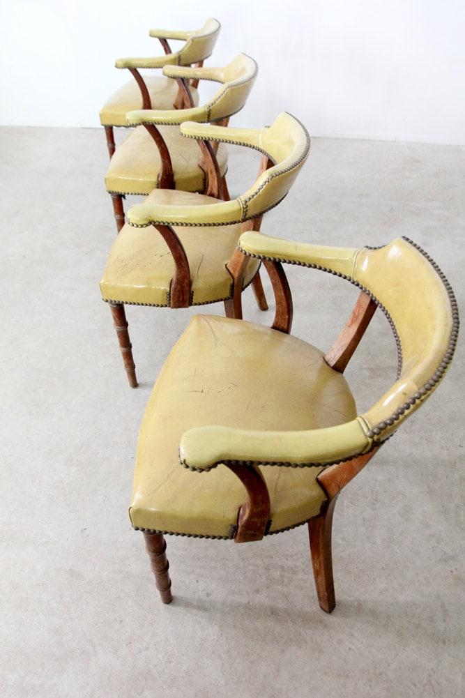 mid century modern chairs / 60s Barnard & Simonds Co set - 86home