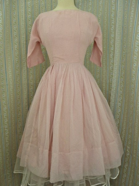 Pretty little pink party dress size small
