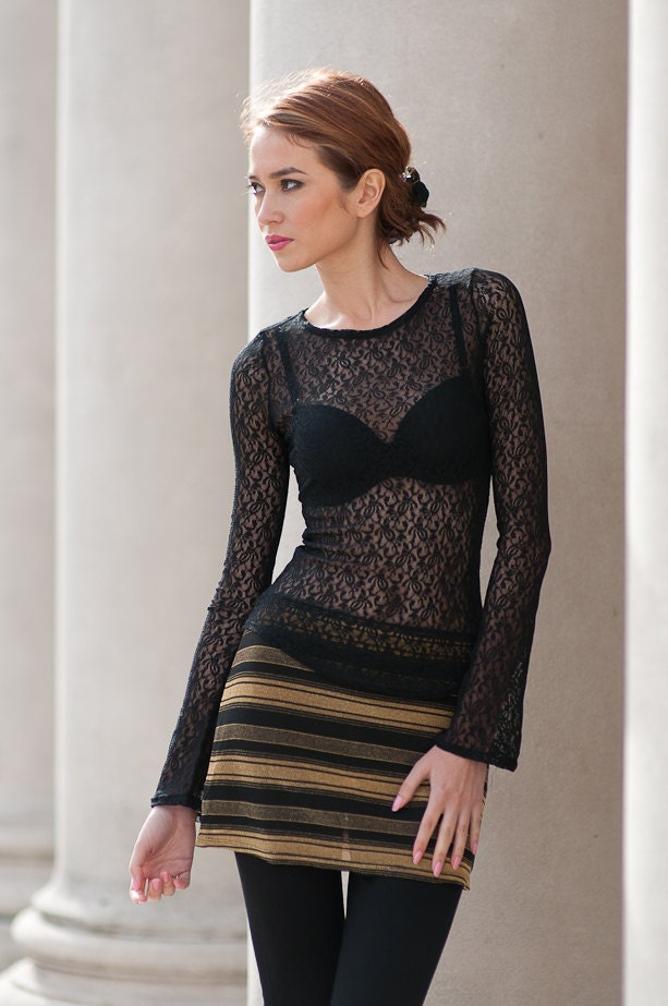 Free shipping BOTH ways on black top sheer long sleeve, from our vast selection of styles. Fast delivery, and 24/7/ real-person service with a smile. Click or call