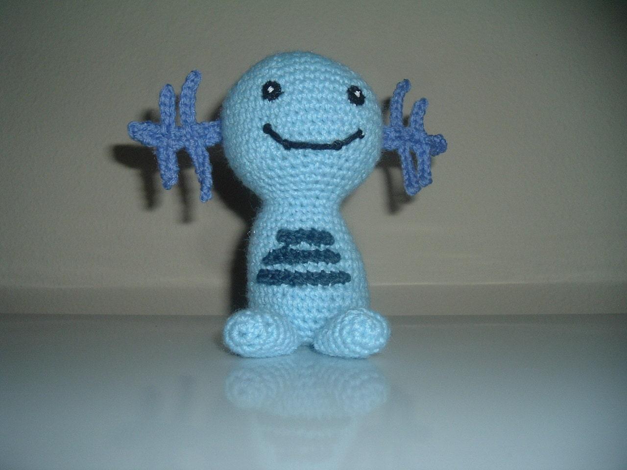 Wooper Pokemon Crochet Amigurumi by NanetteCrochet on Etsy