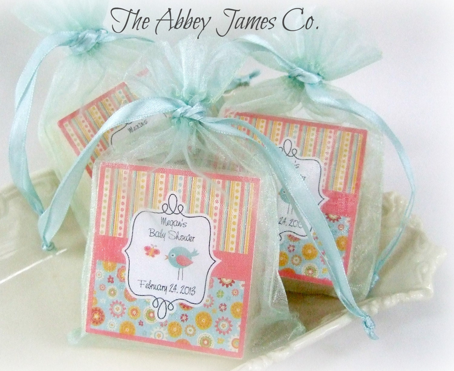 baby shower soap favors abbey james shower favors baby shower