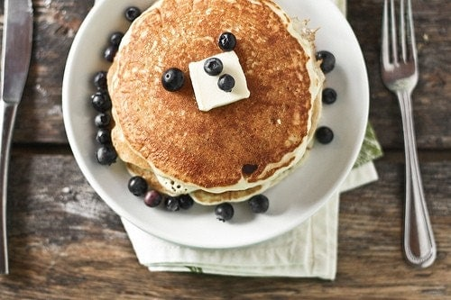 Blueberry Pancakes 8x12 photo