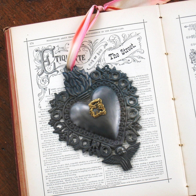 Metal Sacred Heart