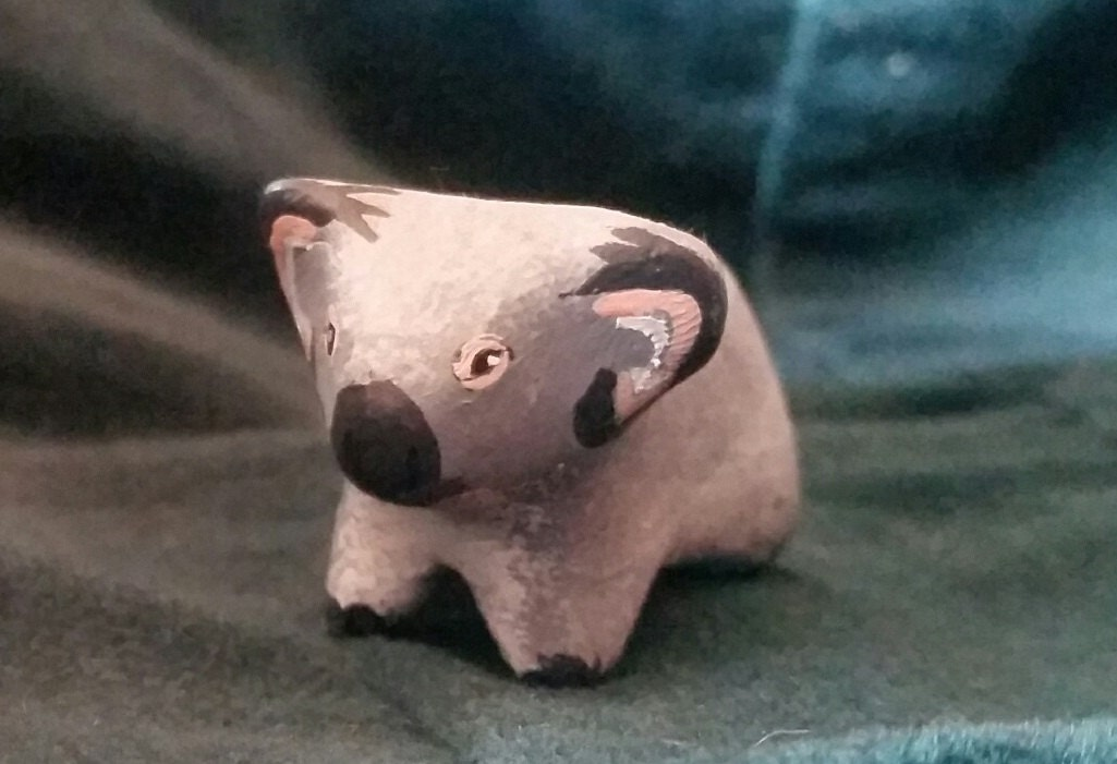 Polymer Clay Totem Talisman Animal Figure Koala.