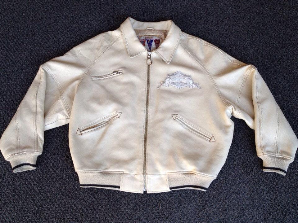 Home В» Mens Black Stripped White Leather Biker Jacket