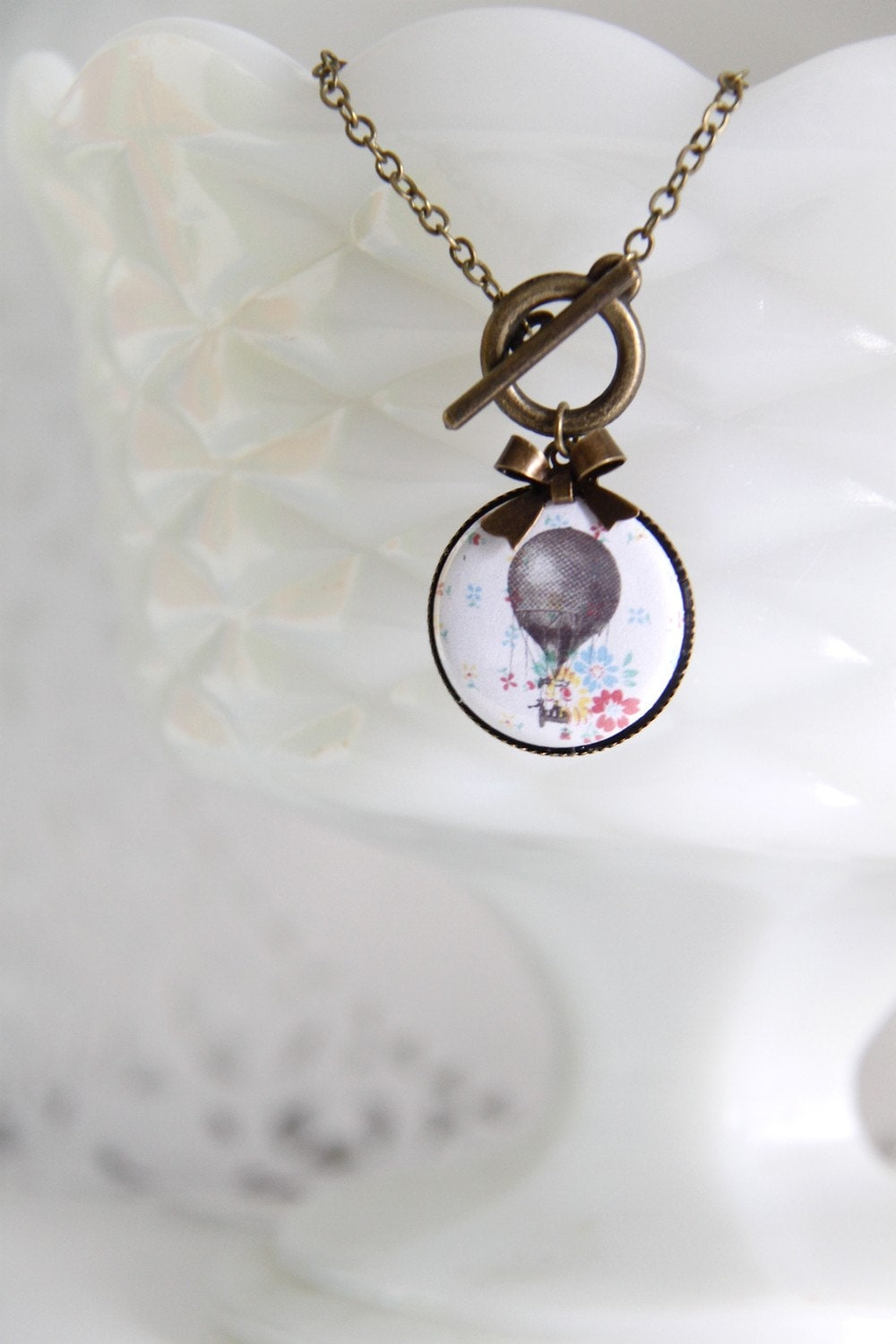 Pastel Air Balloon Necklace