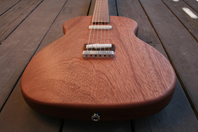 Electric Guitar: American Handmade Poorboy number 15 - WeirGuitars