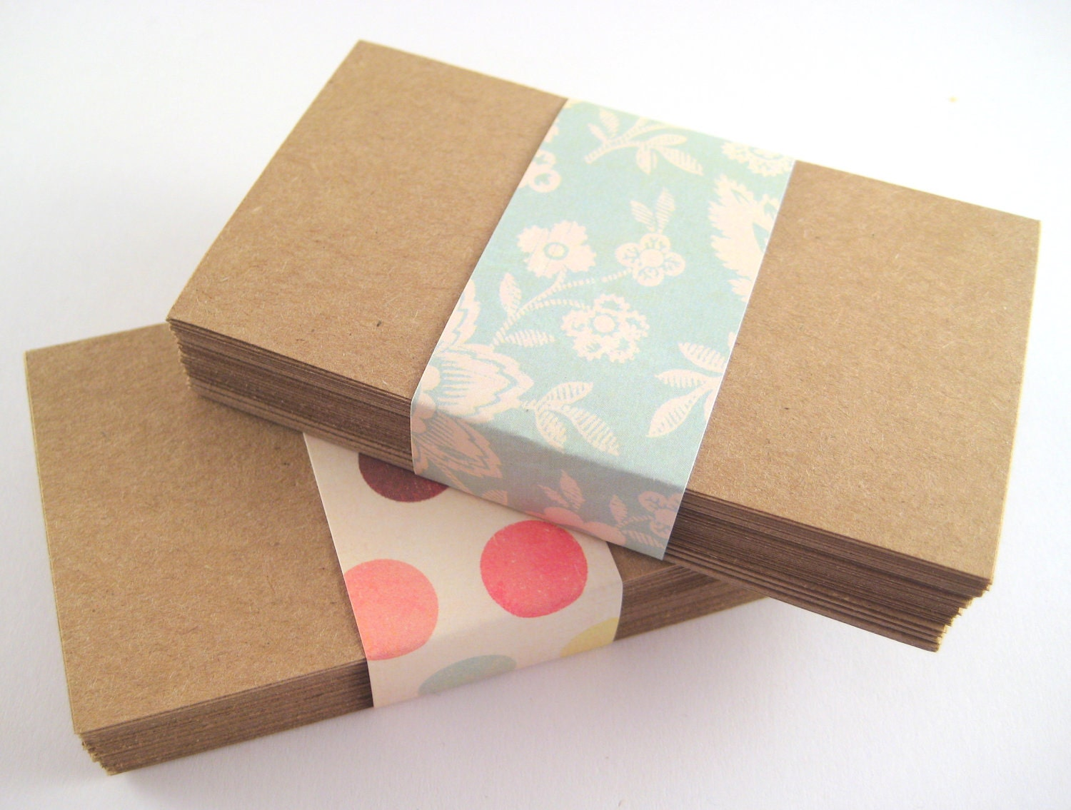 Items similar to Kraft Paper Blank Business Cards 100