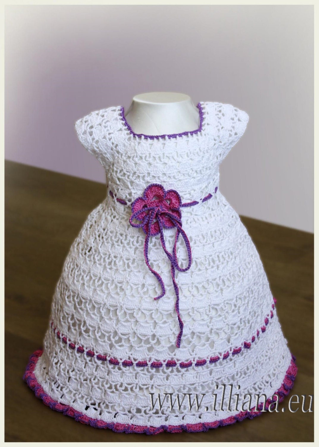 Crochet Pattern / Dress No. 55