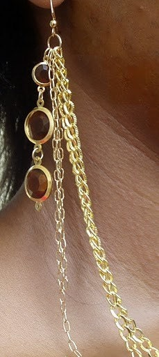 Gold Bondage Earlace