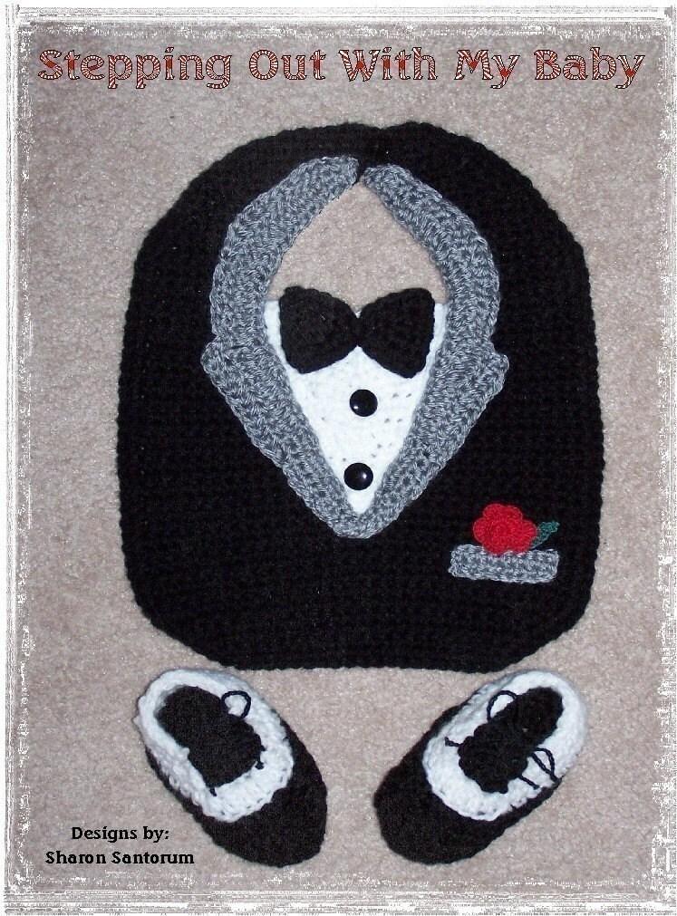 Baby Bib Free Crochet Pattern - KarensVariety.com