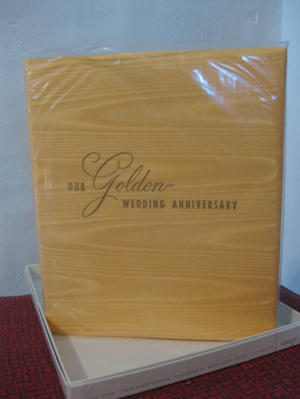 Vintage Golden Anniversary Book in Original Box